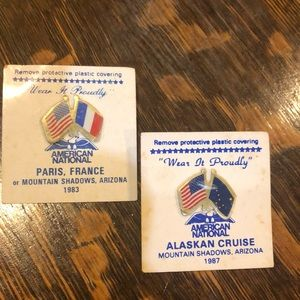 American National Sales Campaign Pins